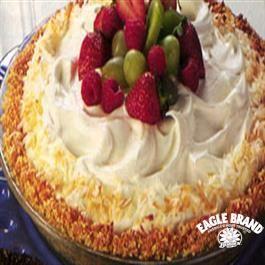 Coconut Almond Cream Pie from Eagle Brand® Sweetened Condensed Milk