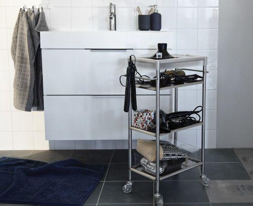 Die besten 25+ Ikea rollwagen Ideen auf Pinterest Rollwagen - badezimmer rollwagen