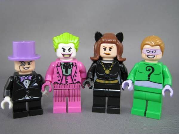 ジョーカー キャットウーマン リドラー ペンギン 76052 バットマン バットケイブ クラシックTVシリーズ レゴ LEGO_画像1