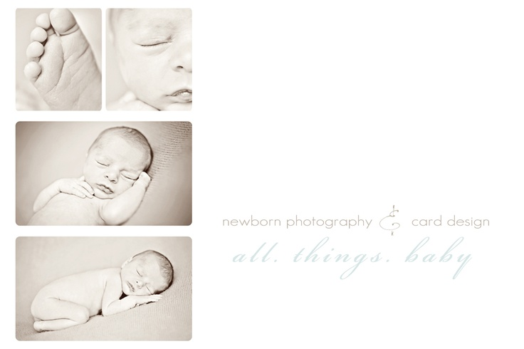newborn photography, custom birth announcements, card design templates at www.lisasiddall.com