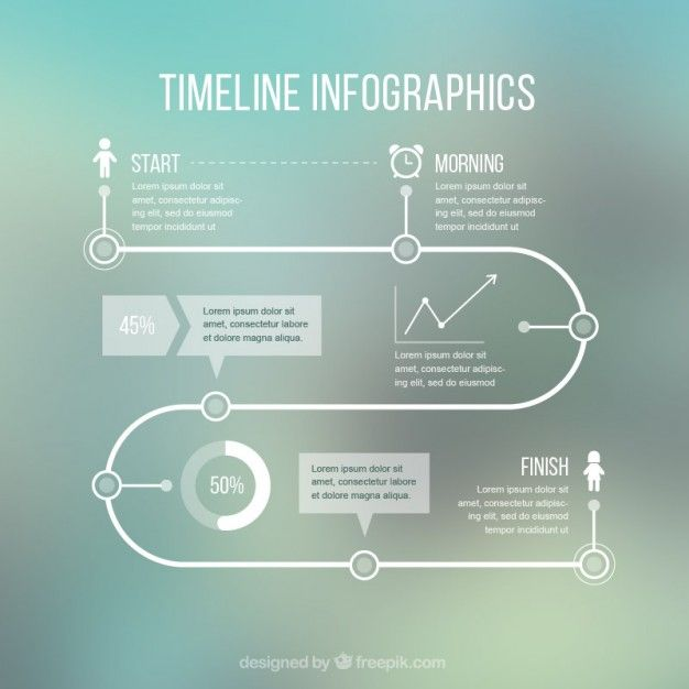Infographic Path Vectors, Photos and PSD files | Free Download