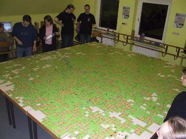 OMG! Enormous Carcassonne game!   Image   BoardGameGeek