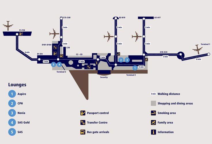 #Copenhagen airport map