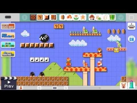 Mario Maker - New Gameplay (Nintendo Direct)