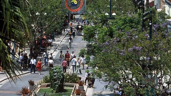 3rd Street Promenade, Santa Monica, open air shopping mall