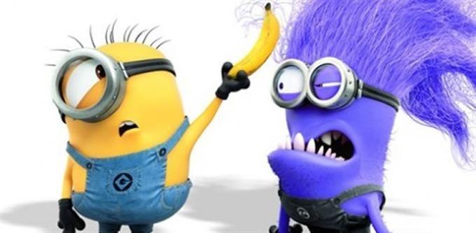 yellow vs purple minion | Funny | Pinterest