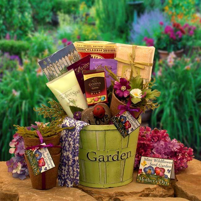 Gardening Basket Gift Ideas gardening gift basket ideas A Popular Baby Shower Handprint Gift Set Blue