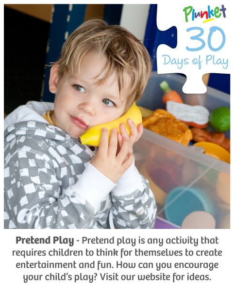 #30daysofplay activity is about pretend play.