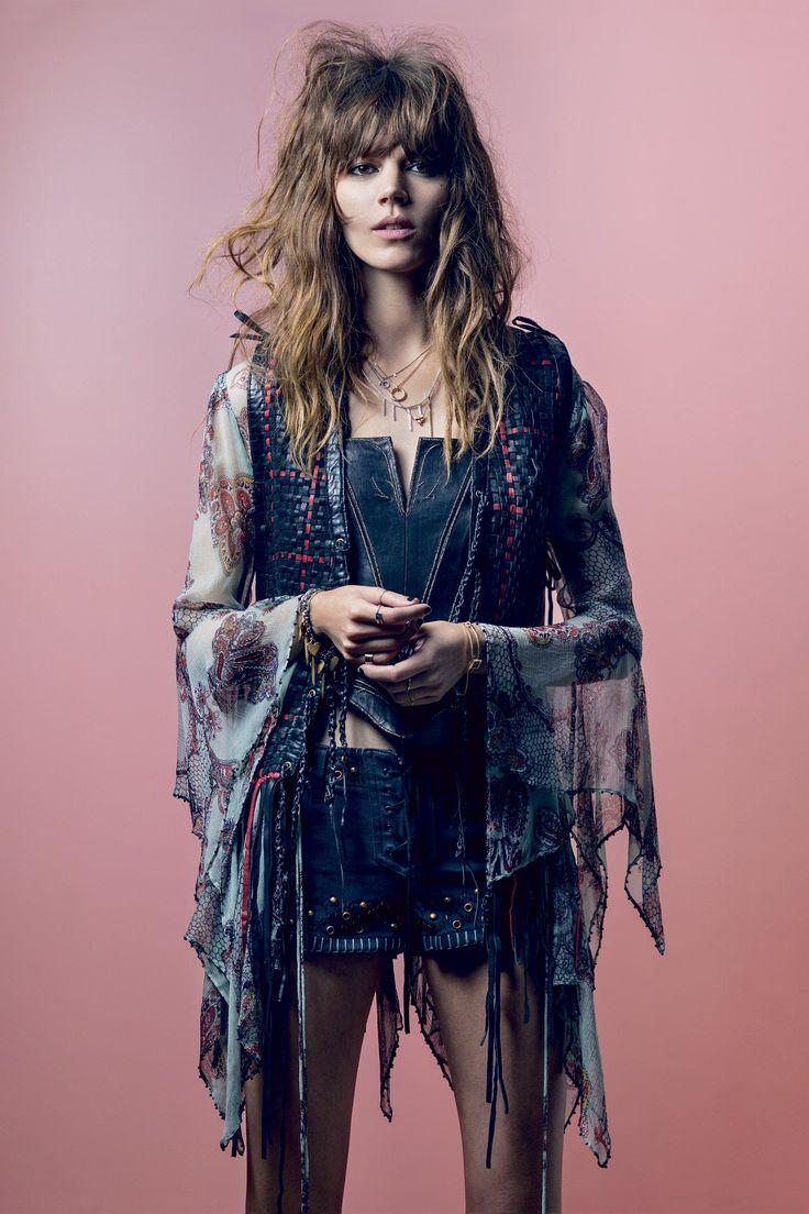 runwayandbeauty:  Freja Beha Erichsen -Vogue UK, May 2014 styled by Kate Moss  http://afashionlines.tumblr.com/