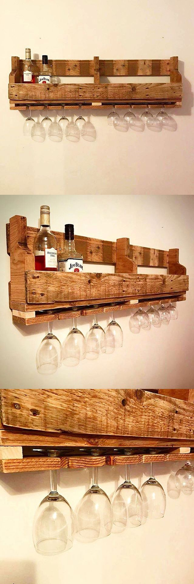 El caliente bar by sweet co tokyo 187 retail design blog - Reclaimed Wood Wine Rack Can Custom Make For Your Home Bar Or Cellar Dining