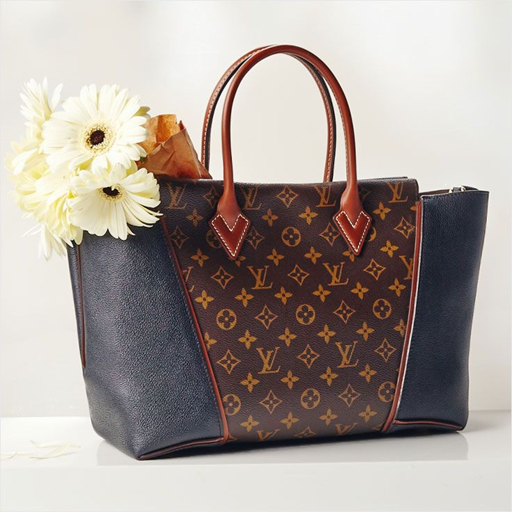 Flowers make your day. Louis Vuitton makes your life.