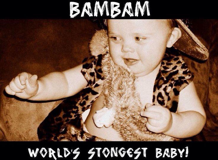 Bam bam  sc 1 st  Pinterest & 11 best My Kids costumes images on Pinterest   Baby costumes Infant ...