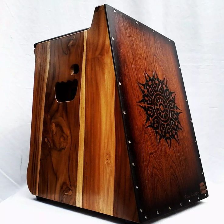 cajón electric model Teka custom - totally hand made