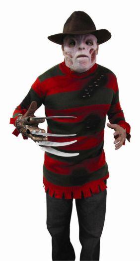 A Nightmare On Elm Street Deluxe Freddy Krueger Sweater Pre Teen