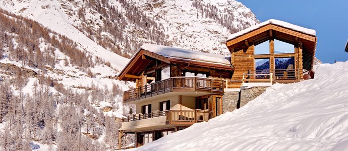 Chalet Grace is built to the highest standard, featuring floor to ceiling windows on all three levels, and a dramatic vaulted interior. Chalet Grace already has a reputation as one of the most luxurious and spectacular chalets in Zermatt. -http://ikh.villas