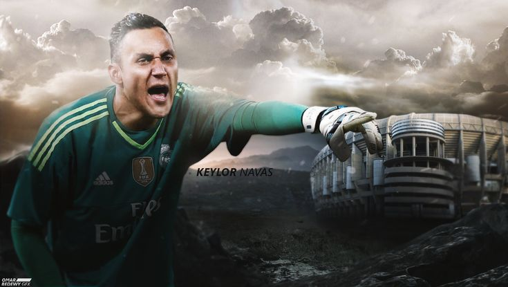 Keylor navas (Real Madrid 2015/2016) wallpaper by OmarBedewyGFX on