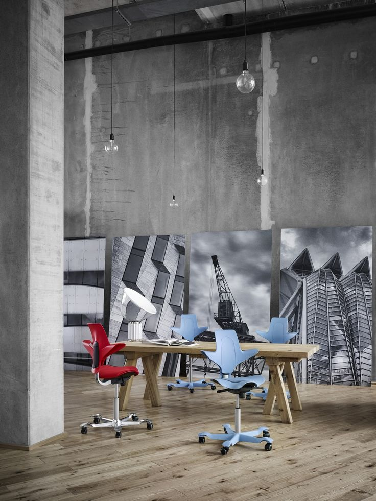 Inspiration brought by HÅG Capisco Puls #InspireGreatWork #design #Scandinavian #office