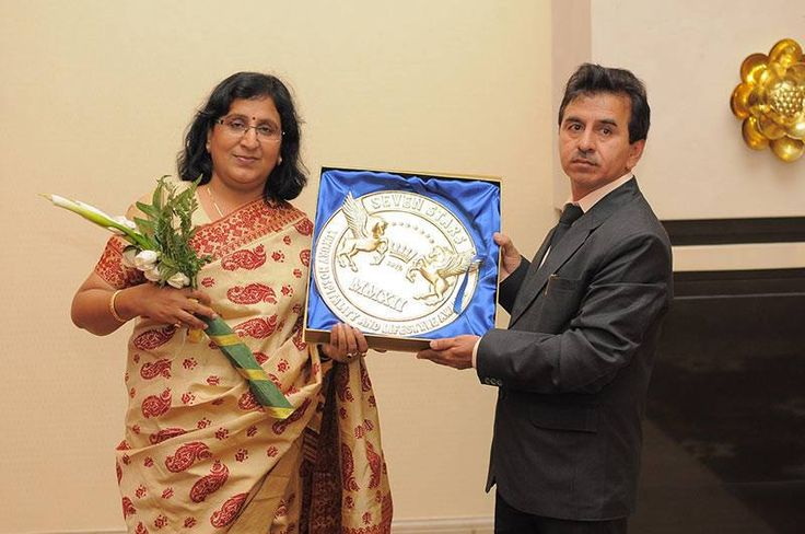 Award conferred at a function in Bali, Indonesia