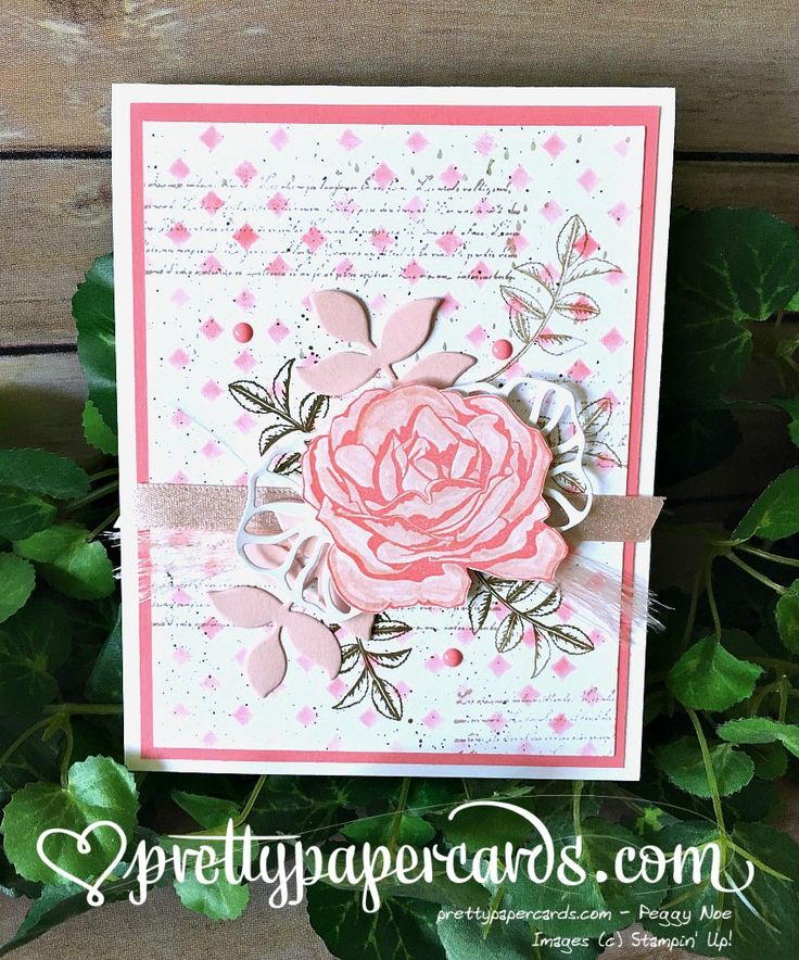 188 best stampin up graceful garden images on pinterest for Stampin pretty craft room