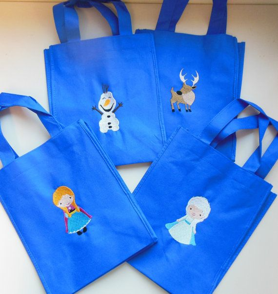 EarthFriendly Snow Queen Frozen Treat Bags  Elsa  by jnrbrainerd, $4.00