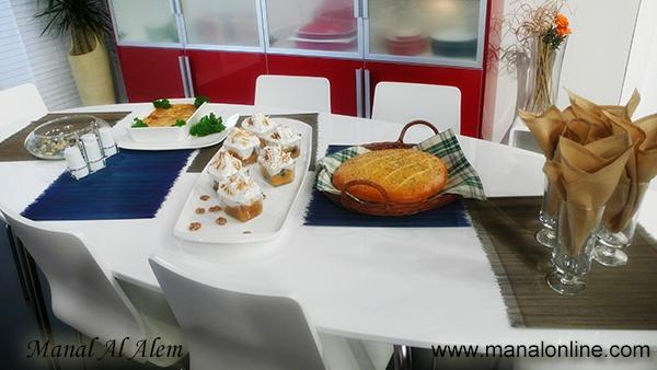 تزيين أطباق Table Decorations Cooking Show Decor
