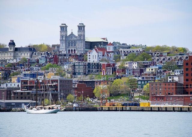 St. John's Harbour by Newfoundland and Labrador Tourism, via Flickr