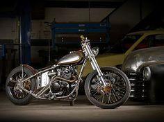 Bobber Inspiration | Honda CB750 custom bobber | Bobbers and Custom Motorcycles
