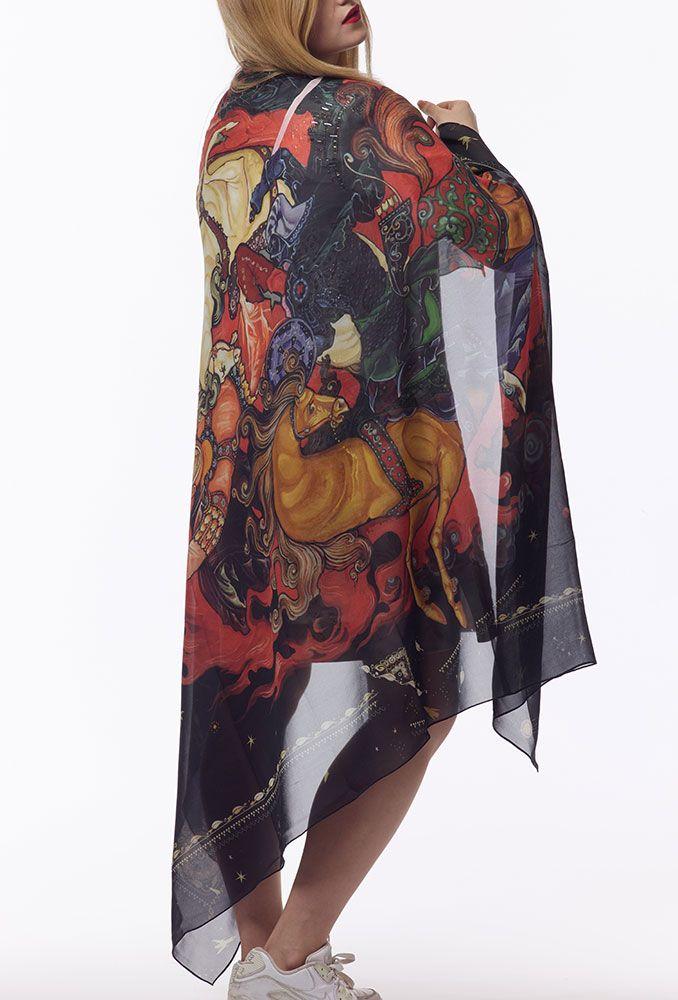 silk palantine 180x130 , musline