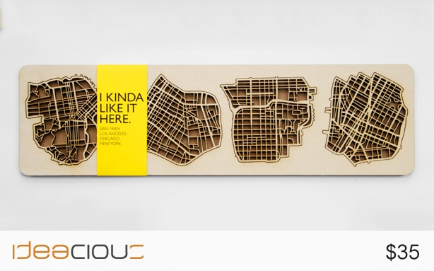 US Cities Coasters by The National Design Collective | A celebration of our neighbouring design-centric cities in the United States. $35.#Sanfrancisco #Newyork #Losangeles #Chicago #U.S.A #U.S.Acities