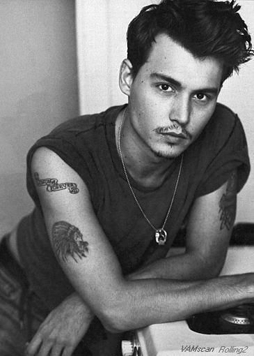 mm mm, why didn't Johnny Depp stay this yummy?