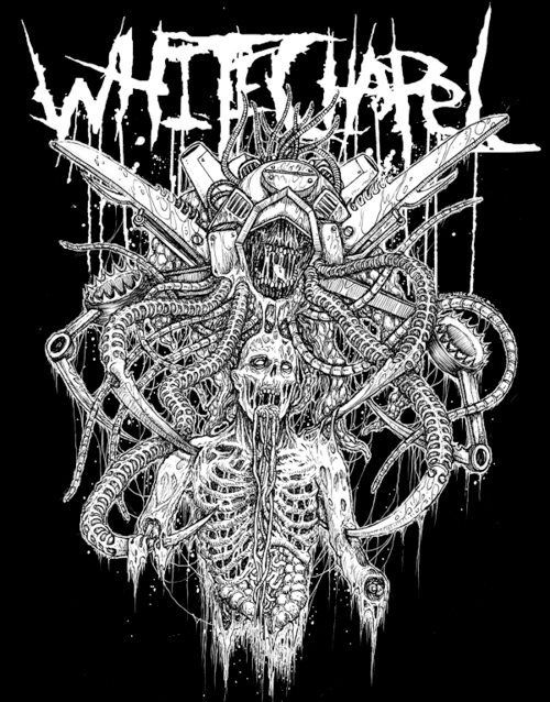 Whitechapel. Knoxville, TN. deathcore