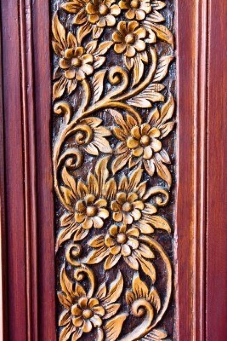 Wood carving designs furniture - Wood Carving Designs Flowers Wood Carving Of Flowers And Leaves Stock Image Image 16939231