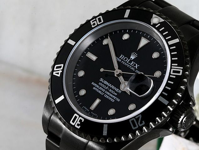 Black DLC Rolex Watches ($6,000 and up)