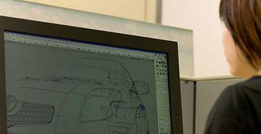 Toyota 3D Modelling