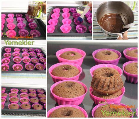 Kakaolu Muffin Tarifi   Resimli Yemek Tarifleri Hayalimdeki Yemekler