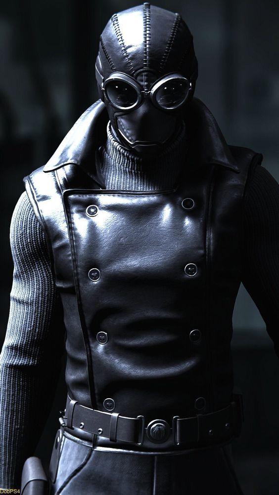 Spider Man Noir Leather Vest | Super Comics | Spiderman ...