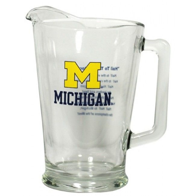University of Michigan Fight Song Pitcher At Campus Den