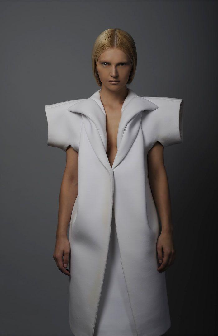 Tze Goh AW2010.  #fashion #body #structure #skin   architectural fashion