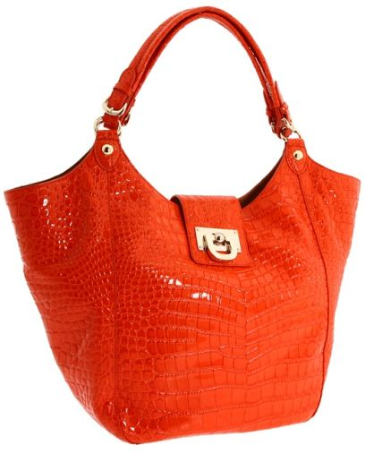 Dkny Patent Croco Crossbody Bag 2