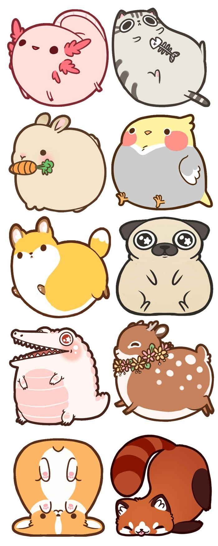 Fat Animal Acrylic Charms~! by Rebecca and Damien Bakels-Murphy — Kickstarter