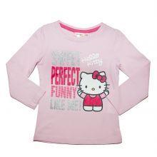 Tricou ML Hello Kitty - roz