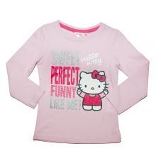 Tricou ML Hello Kitty - roz