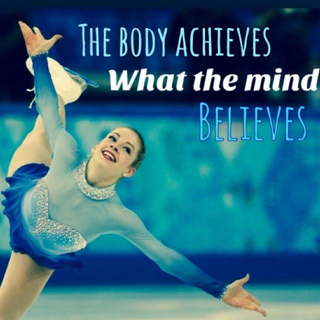 Such a great quote, can apply to figure skating and any other sport as well