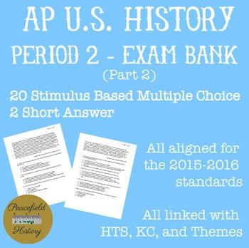 AP® US History Study Guide