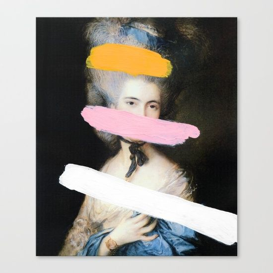 Buy Brutalized Gainsborough 2 Canvas Print by Chad Wys. Worldwide shipping available at Society6.com. Just one of millions of high quality products available.