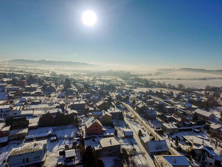 #village #brusperk #houses #sunny #dji #djiphantom #phantom3