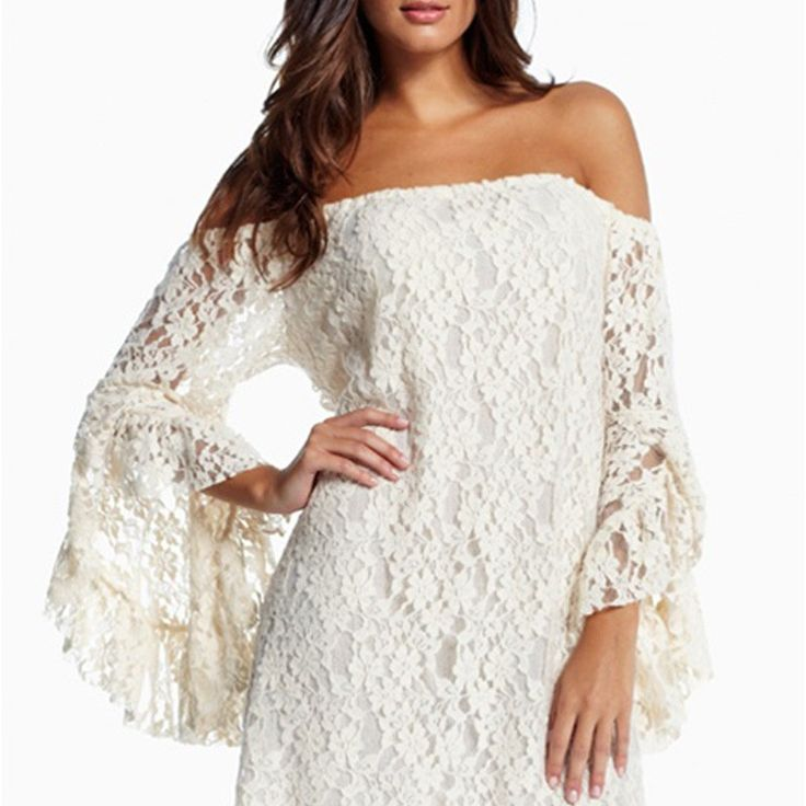 New Style Tassels Speaker Lace Tee Dress|Fashion Dresses - Clothing & Apparel - ByGoods.com