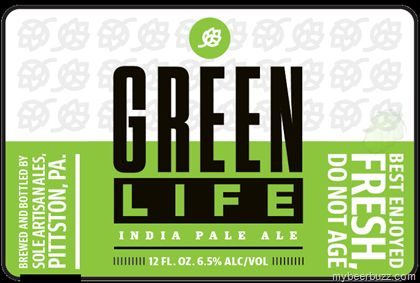 mybeerbuzz.com - Bringing Good Beers & Good People Together...: Søle Artisan Ales - Green Life IPA Bottles (Susque...