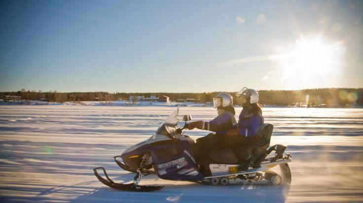 Snowmobile Safari to Arctic Snowhotel - Rovaniemi, Lapland, Finland