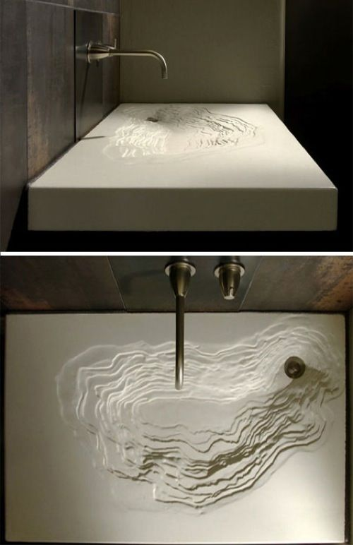 The Erosion Sink From Gore Design Bathroom Part 89